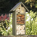 Handmade Three Tier Bee Hotel