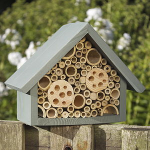 Handmade Bee Hotel - for small animals & wildlife