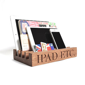 Oak Stand For Ipad - gifts for him