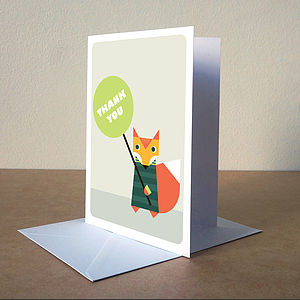 'Thank You' Card - thank you cards