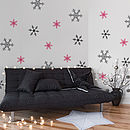 Snowflakes Set Wall Stickers