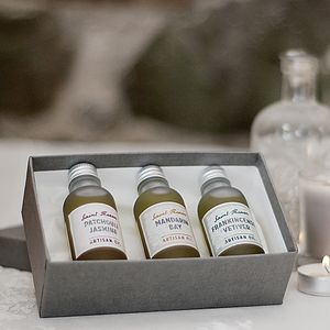 Artisan Oils Boxed Gift Set - gift sets