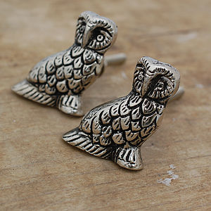 Set Of Two Owl Cupboard Knobs