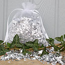 Bag Of Silver Confetti