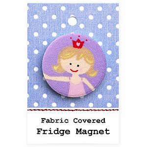 ''Princess'' Girls Fridge Magnet - magnets