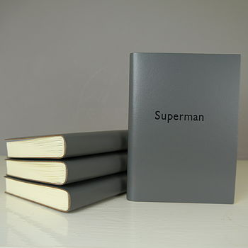 Superman Leather Journal