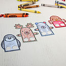 Illustrated Finger Puppet Card
