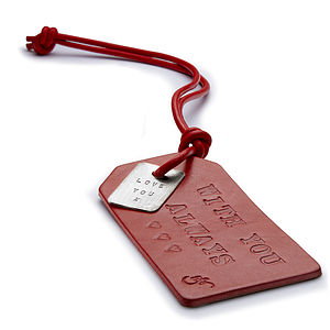 Personalised Luggage Tag - bags & cases