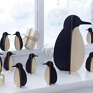 Penguin Decoration - nativity scenes & figures