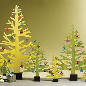 Wooden Christmas Tree - christmas trees