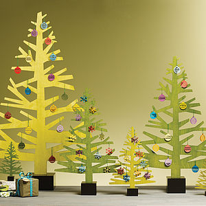 Wooden Christmas Tree - christmas parties & entertaining