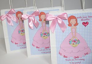 Personalised Party Bags - party bags and ideas
