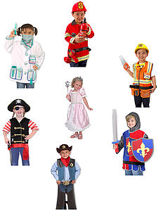 Lots Of Children's Dressing Up Outfits
