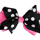 Halloween bow - pink