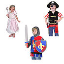 Knight, Pirate Or Princess Dressing Up