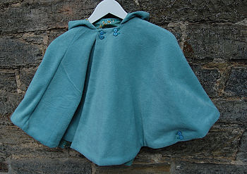 Reversible Fleece Poncho