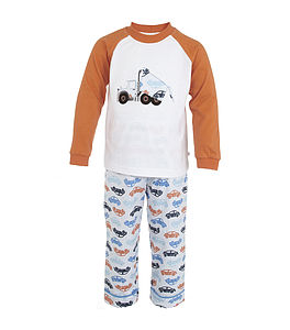 'Pick Up' Truck Leisure Pyjamas