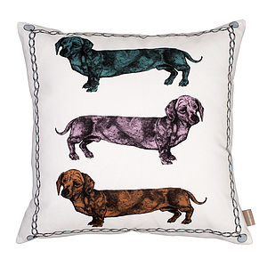 Dachshund Cushion - sale by category