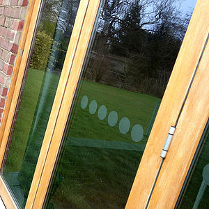 Window Film Safety Spots