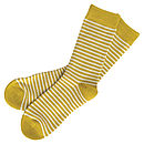 Striped Socks - Aniseed