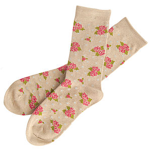 Bouquet Socks - women's fashion