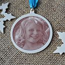 Personalised Picture Christmas Bauble