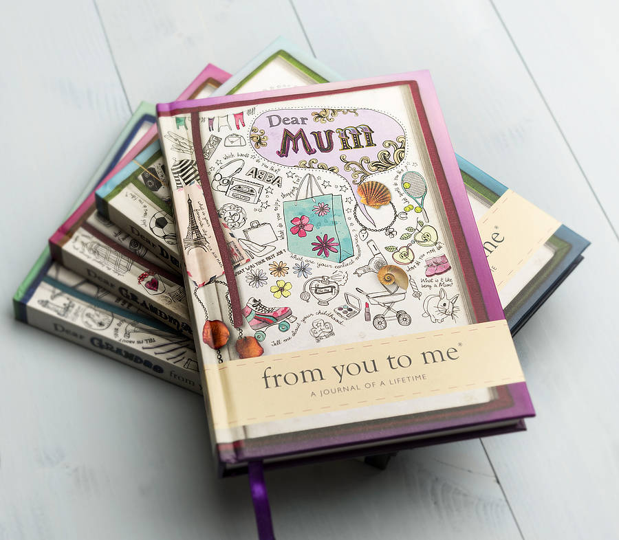 'dear Mum' Journal Of A Lifetime By Glad Gifts