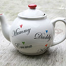 Personalised Family Teapot