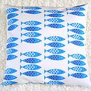 Newlyn Fish Cushion Cover