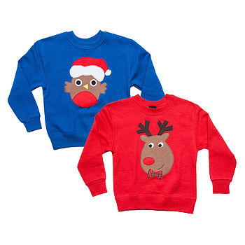 Children's Christmas Jumper Two Pack