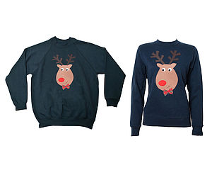 Novelty His And Hers Christmas Jumpers - christmas jumpers & fancy dress