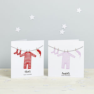 Baby's First Christmas Card - shop by category