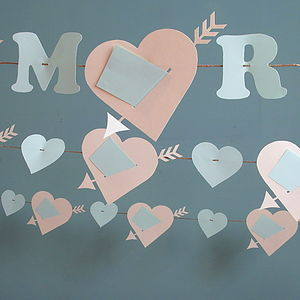 Wedding Day Love Note Garland