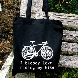 'I Bloody Love My Bike' Bag