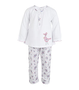 Bird Applique Leisure Pyjamas