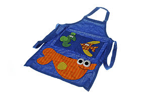 Fair Trade Fish Apron - children's cooking