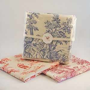Handmade Fabric Napkin Set - table linen