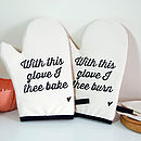 With This Glove… Oven Mitt Set
