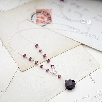 Garnet 'Love And Devotion' Necklace