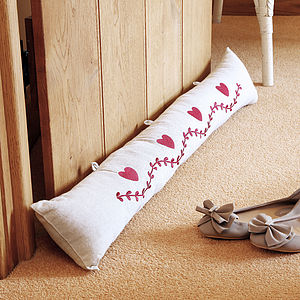 Heart Draught Excluder - decorative accessories