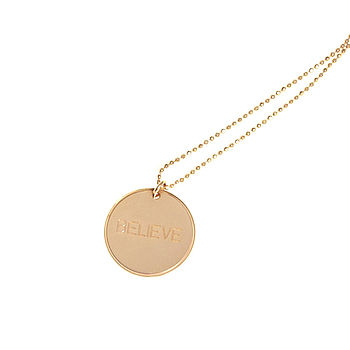 Believe Inspirational Necklace