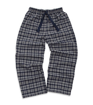 Older Boys Brushed Check Lounge Pants