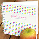 Personalised Teacher Notebook