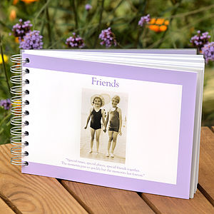 Friends Memory Book