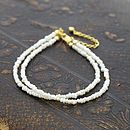 Seed Pearl And Gold Vermeil Bracelet