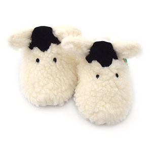 Shaggy Sheep Soft Baby Shoes - clothing