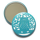 Owl Pocket Mirror