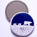 Polar Bear Pocket Mirror