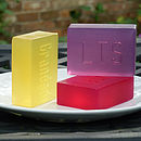 Personalised Name Or Initial Soap