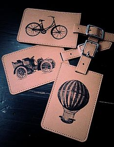 Vintage Luggage Tag - men's accessories